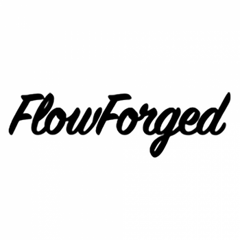 FlowForged Sticker | White